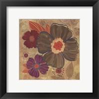 Framed FALL FLOWERS II - MINI