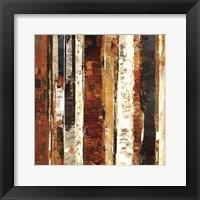 Framed Red Amber II - MINI