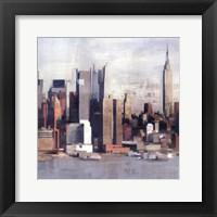 New York Skyline I Framed Print