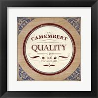 Framed Camembert
