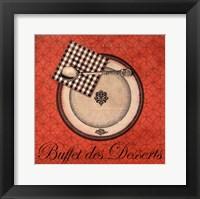 Framed Buffet de Desserts