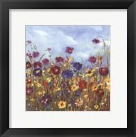 Framed Sunshine Meadow II - Mini