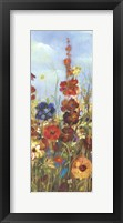 Framed Meadow Florals I - Field