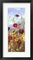 Framed Meadow Florals I - Mini