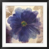 Indigo Dreams I Framed Print