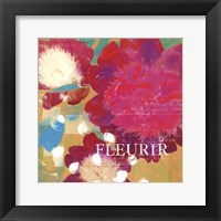 Framed Fleurir - Mini