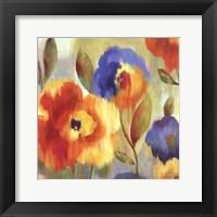 Framed Ikat Florals II - Mini