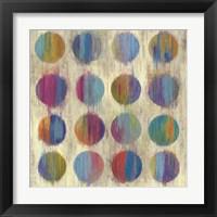 Framed Ikat Dots II