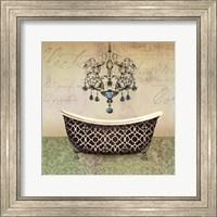 Framed French Vintage Bath I