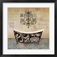 Framed French Vintage Bath II - Mini
