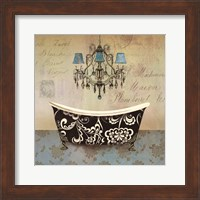Framed French Vintage Bath II - Mini