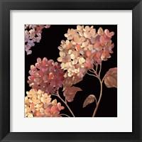 Framed Velvet Hydrangeas I - Mini