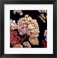 Framed Velvet Hydrangeas II - Mini