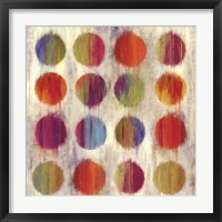 Framed Ikat Dots I