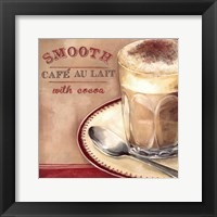 Framed Cafe au lait