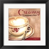 Framed Creamy Cappuccino