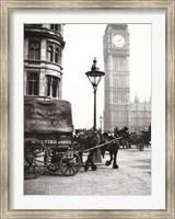 Framed Big Ben, London, c 1900s