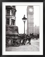 Framed Big Ben, London, c 1900s