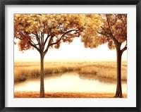 Framed Golden Morning II