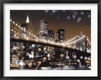 Framed New York Night II