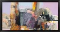Framed Trasparenze Panel