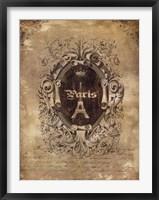 Framed Paris Classique II