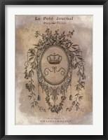 Framed Le Petite Journal