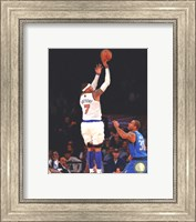 Framed Carmelo Anthony 2012-13 shooting