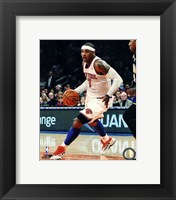 Framed Carmelo Anthony 2012-13 basketball Action