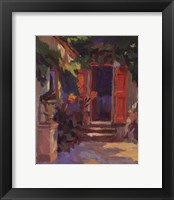 Framed RED SHUTTERS