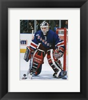 Framed Mike Richter Action