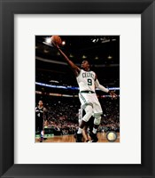 Framed Rajon Rondo on court 2012-13