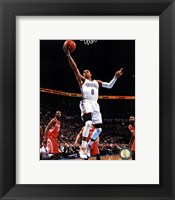 Framed Basketball - Russell Westbrook 2012-13 Action