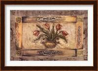 Framed FLORAL URN I