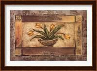 Framed FLORAL URN II