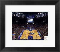 Framed Allen Fieldhouse University of Kansas Jayhawks 2012