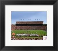 Framed Jordan Hare Stadium, Auburn University Tigers 2012