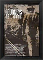 Framed Neil Young Journeys