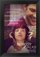 Framed Nobody Walks