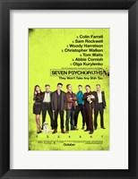 Framed Seven Psychopaths B