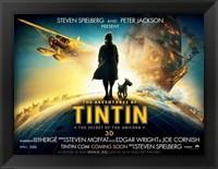 Framed Adventures of Tintin: The Secret of the Unicorn Film