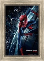 Framed Amazing Spider-Man (on a building)
