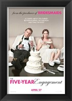 Framed Five-Year Engagement