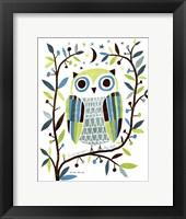 Framed Night Owl II