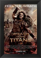 Framed Wrath of the Titans