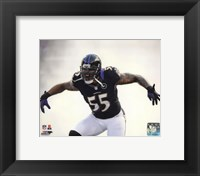 Framed Terrell Suggs 2012 Action