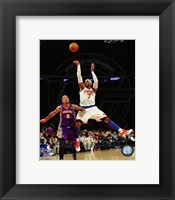 Framed Carmelo Anthony 2012-13 Action