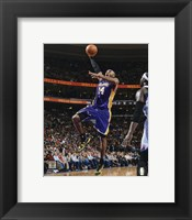 Framed Kobe Bryant 2012-13 Action
