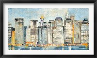 Framed Waterfront Skyline