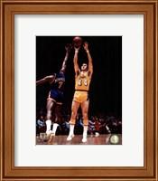 Framed Jerry West 1975 Action